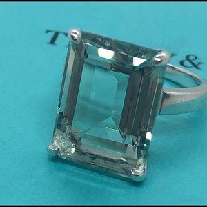 Tiffany&co Peridot Sparkler Ring
